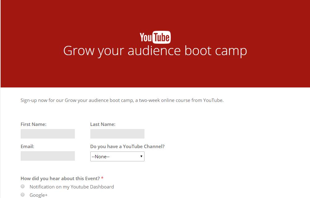 Como hacer crecer tu audiencia en Youtube