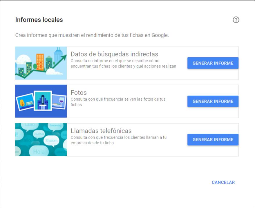 nuevas funcionalidades de google my business