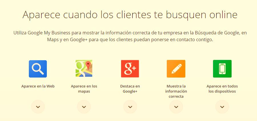Las ventajas de Google My Business