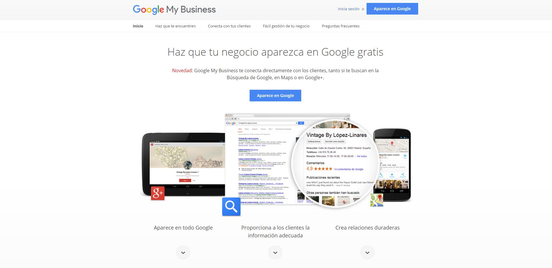 conoce las nuevas funciones para Google My Business