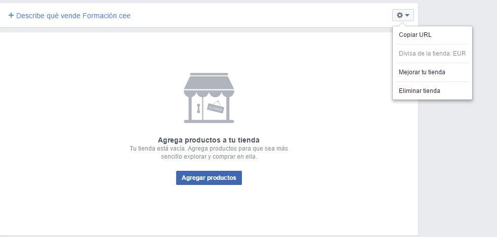 crear una tienda en facebook pasos a seguir