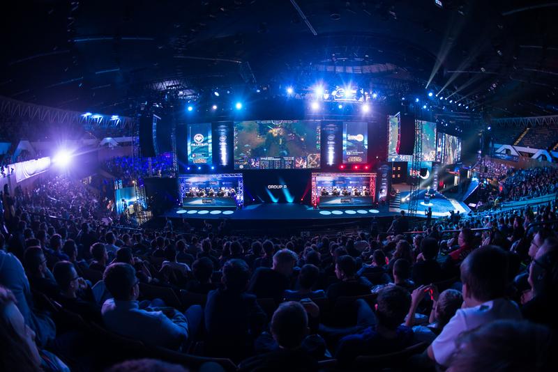 comunidad viendo partida en directo de League of Legends