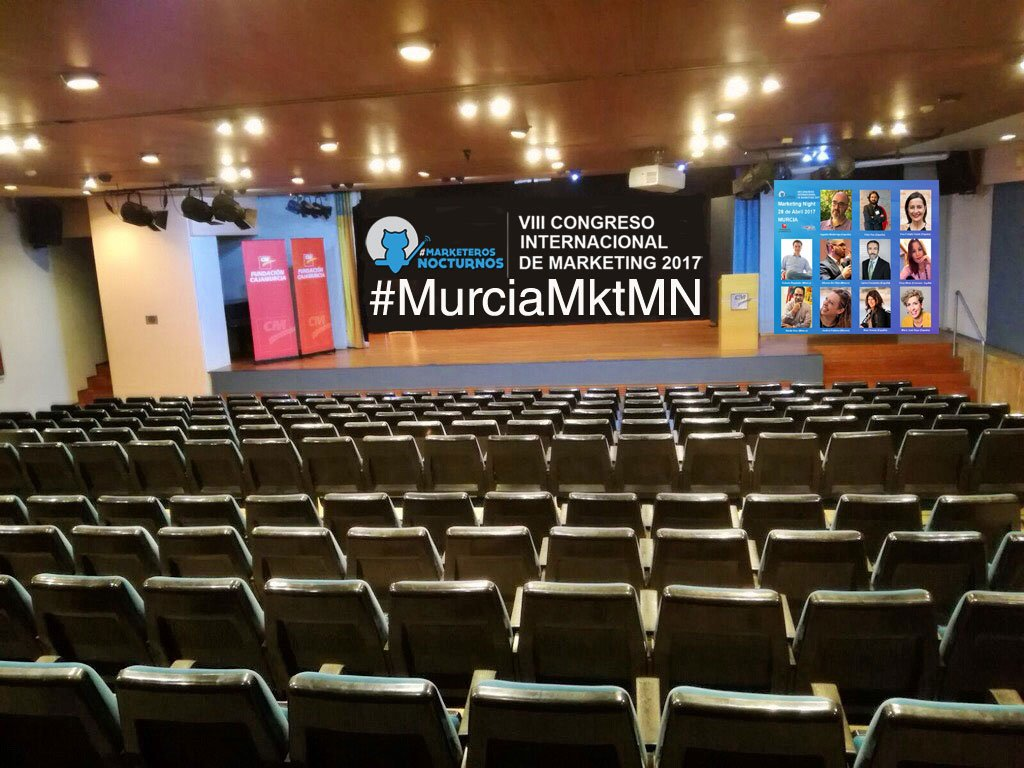 Marketeros Nocturnos Murcia 2017, uno de los congresos de Marketing más importantes de España