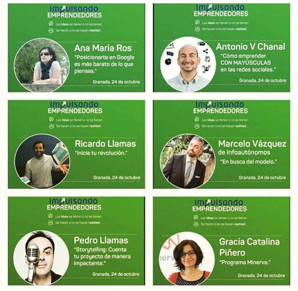 Jornadas Impulsando Emprendedores Granada