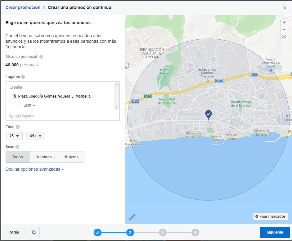 aumenta tu difusión local con las promociones continuas de facebook