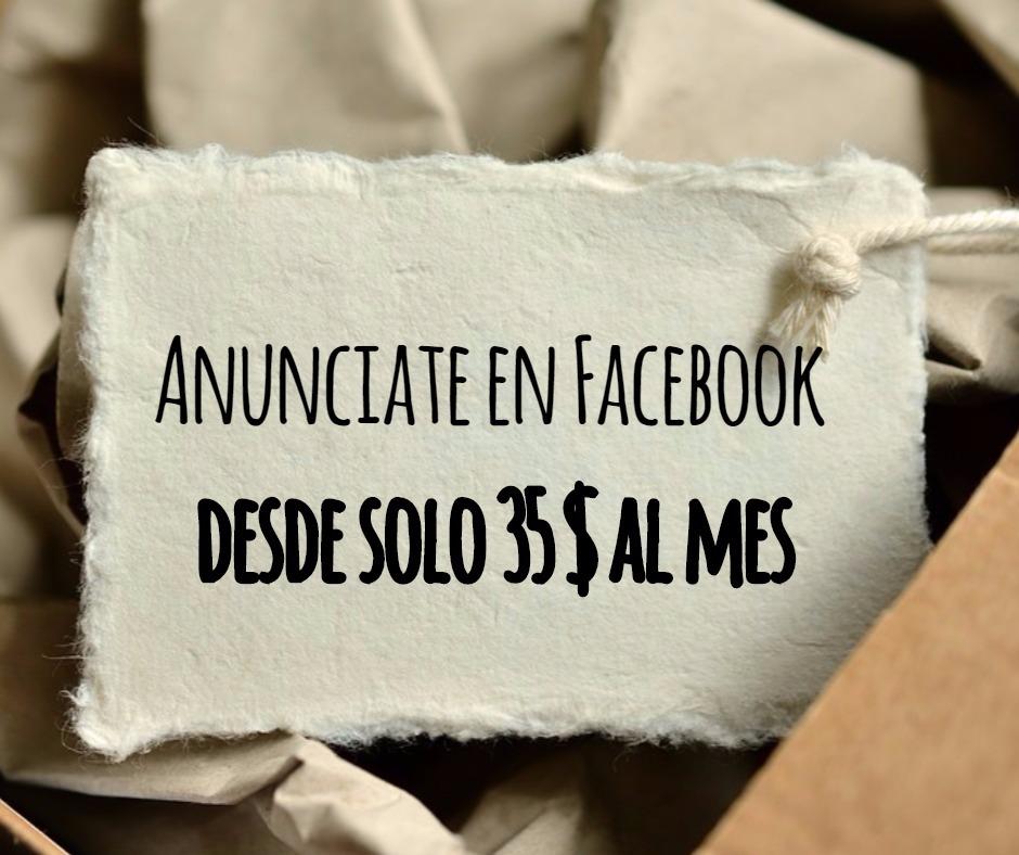 promociones continuas en Facebook desde 35 euros al mes