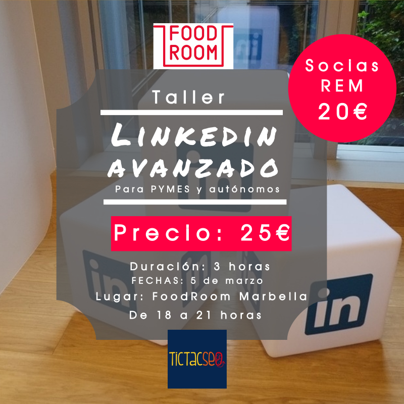 curso de linkedin avanzado en Food Room