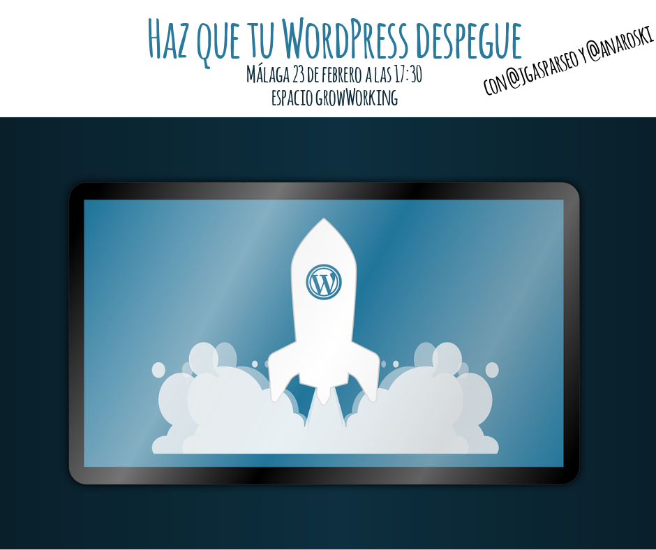 Taller gratuito Haz que tu WordPress despegue