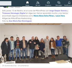 curso de WordPress para pymes